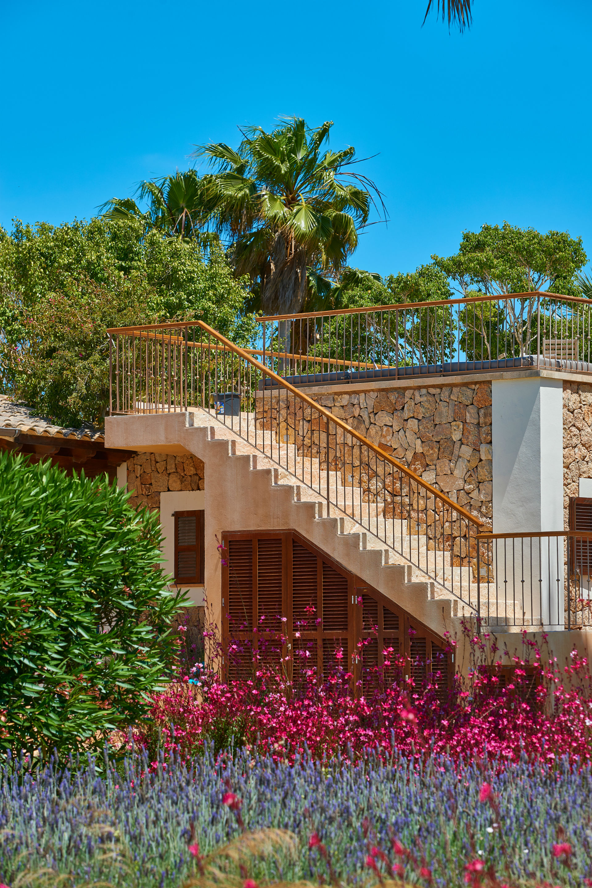 49 Casa Adrover Sunset Terrace Stairs